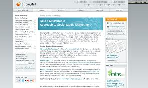 StrongMail Social Studio