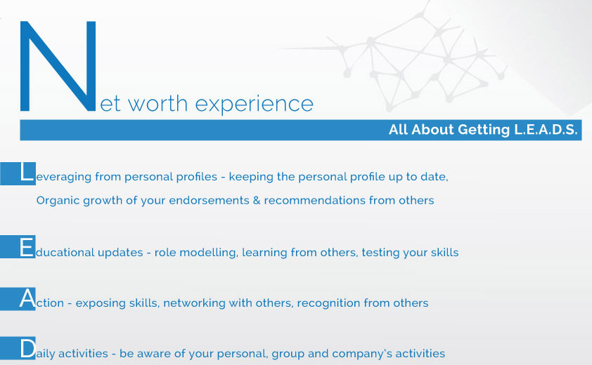 Net worth experience