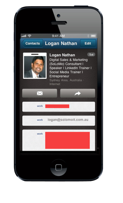 scanning-a-business-card