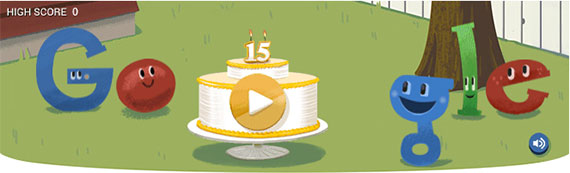 Google Turns 15! - Digital Marketing Australia