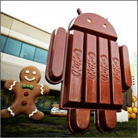 Android 4.4, aka Android KitKat is upon us