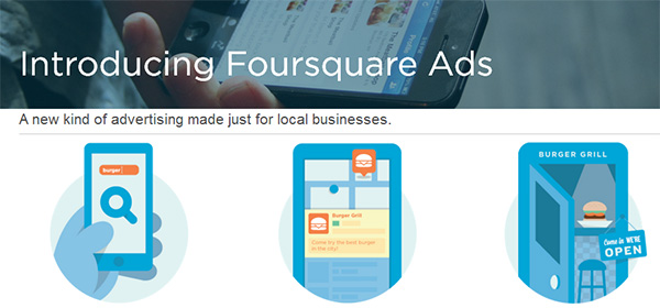 Foursquare opens its Ads Platform to Small Businesses
