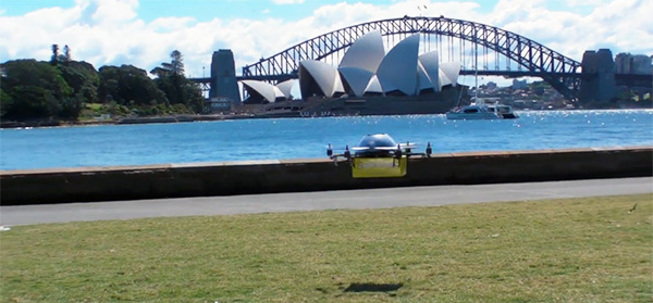 Australian Startups to fulfill textbook orders by drone