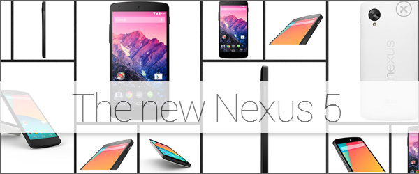 The Nexus 5 is out