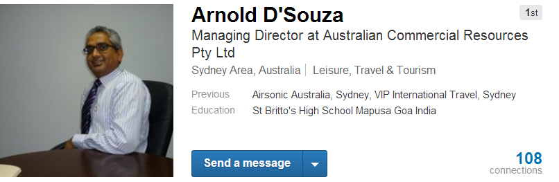 Arnold D'Souza