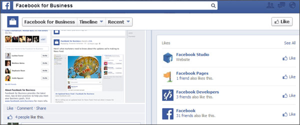Facebook Redesigns Pages Layout