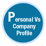 Personal Vs Company Profile
